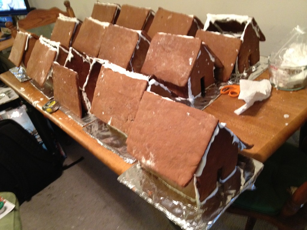 Welcome to Gingerbread Houseville
