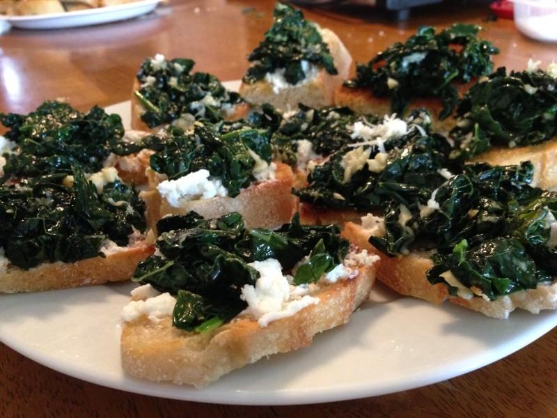 Bruschetta with Kale - Copy - Copy