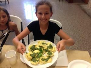 Summer camp pasta
