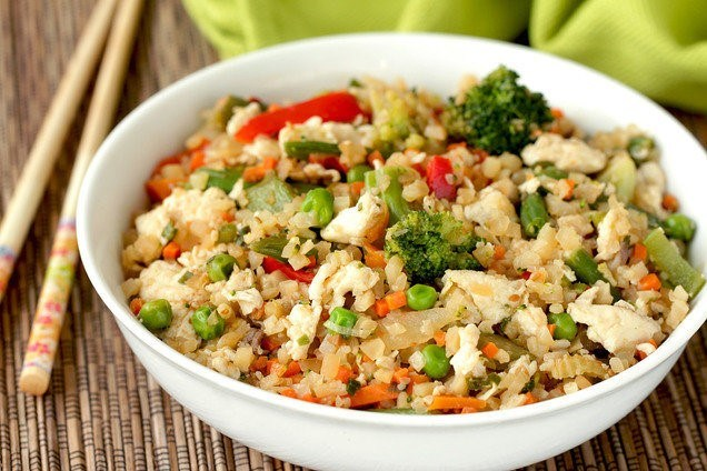 The definitive guide to cauliflower fried rice 5 tips to make active time 15 mins start to finish 20 mins serves 4 or 2 as a main course have you ever wondered how to make cauliflower fried rice ccuart Image collections